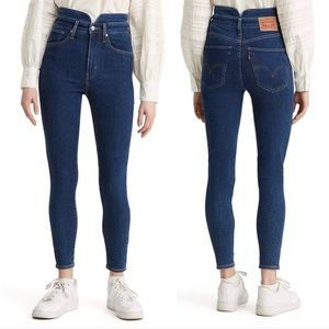 NWT LEVI'S Mile High Super Skinny Ankle Jeans